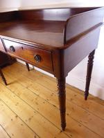 English Early 19th Century Mahogany Side Table (3 of 6)