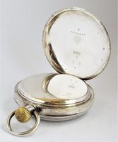 Antique  Silver  Omega Pocket Watch (3 of 5)