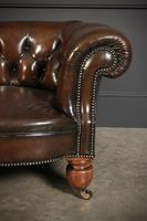 Victorian Hand Dyed Buttoned Leather Chesterfield Sofa (10 of 14)