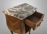 French Marquetry Bedside Table Louis XVI Style (9 of 10)