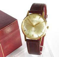 Gents 9ct Gold Rotary Wrist Watch - 1965