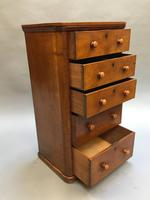 Victorian Narrow Chest of Drawers (9 of 11)