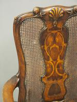 Pair of Queen Anne Style Walnut Armchairs (14 of 17)