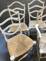 Set of 6 Sheraton Style Painted Chairs (2 of 7)