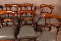 Good Set of 8 Early Victorian Century Dining Chairs (3 of 12)