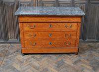 Figured French Commode/ Chest of Drawers (2 of 7)