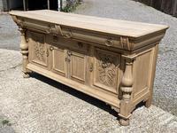 Wonderful Art Nouveau Bleached Oak Sideboard (25 of 26)