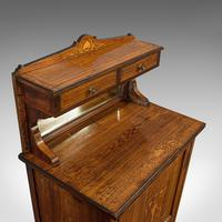 Antique Music Cabinet, English, Rosewood, Side, Hall Stand, Edwardian c.1910 (4 of 12)