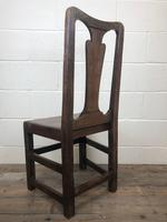 Antique Victorian Carved Oak Chair (8 of 14)
