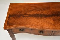Antique Inlaid Mahogany Server Side Table (9 of 9)