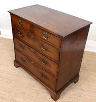 Georgian Oak Chest of Drawers George IV (3 of 9)