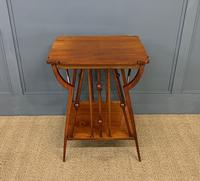 Arts & Crafts Walnut Occasional Table (2 of 6)