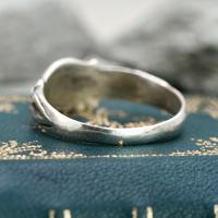 The Medieval Silver Hand on Heart Ancient Ring (4 of 6)