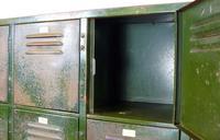 Vintage Industrial 15 Door Metal Workshop Cabinet Locker c.1930 (12 of 14)