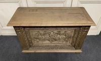Continental Carved Oak Coffer (2 of 15)