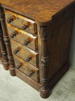 Pair of Victorian Figured Walnut Bedsides (7 of 10)