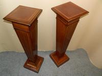 Pair of Mahogany Columns / Pedestals (5 of 6)