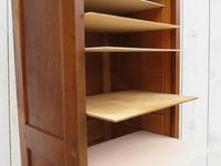 Oak Tambour Front Filing Cabinet (5 of 7)