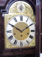 20th Century Solid Musical Mahogany Longcase Clock (2 of 12)