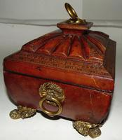 Regency Leather Covered Work Box (4 of 7)