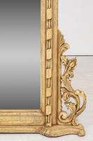 Pair of Victorian Carved Overmantle Mirrors (3 of 6)