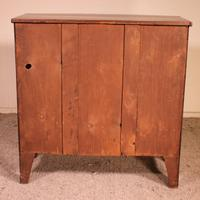 19th Century Mahogany Bowfront Chest of Drawers - England (6 of 8)