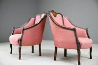 Pair of Edwardian Tub Armchairs (5 of 13)