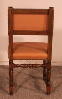 Set of 12 Louis XIII Style Walnut Chairs (9 of 11)