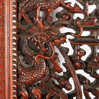 Chinese Red Cedar Framed Mirror (5 of 8)