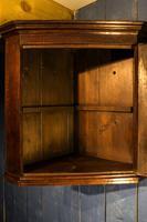 Small Georgian Oak Corner Cupboard (7 of 10)