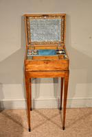 18th Century Satinwood Embroidery / Sewing Box (3 of 7)