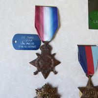 Family group of WW1/2 Medals one KIA (3 of 5)