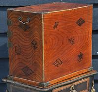 Excellent 19th Century Japanese Oriental Elm Jewellery Box / Table Cabinet (7 of 11)