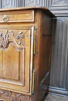 French Oak Buffet / Dresser Base (6 of 9)