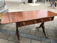 Mahogany Inlaid Sofa Table (7 of 11)