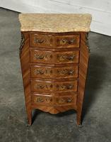 Quality French Marquetry Taller Chest of Drawers (4 of 15)