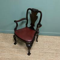 Set of 8 Edwardian Antique Walnut Dining Chairs (13 of 13)