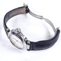 Mid-size Stainless Steel Pasha De Cartier Automatic Wrist Watch (4 of 4)