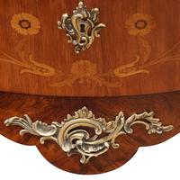 Continental Marquetry Bombe Commode Chest (2 of 14)