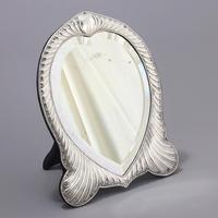 Fine Antique Silver Dressing Table Mirror by William Comyns London 1893 (3 of 10)