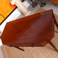 Folding Writing Desk 19th Century Mahogany (16 of 17)