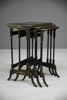 Nest Oriental Black Lacquer Tables (6 of 13)