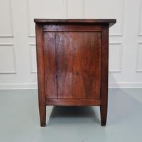 Early Primitive French Walnut Chest Commode c.1800 (4 of 8)