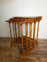 Satinwood Nest of Four Tables (3 of 7)