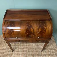 Superb Quality Victorian Antique Cylindrical Mahogany Desk by Maple & Co (9 of 12)