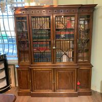 Late Victorian Mahogany 4 Door Library Bookcase (6 of 13)