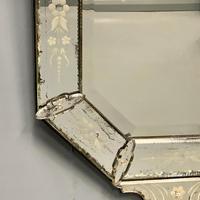 19th Century Cut & Etch Venetian Mirror (8 of 10)
