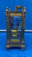 Victorian Gilt Brass  Charles Frodsham Carriage Clock (9 of 11)
