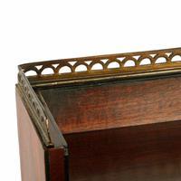 Regency Mahogany Cabinet Bookcase (4 of 8)