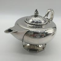 Rare Early Georg Jensen Silver Tea Set Leaf & Berry 181 1924 (8 of 10)